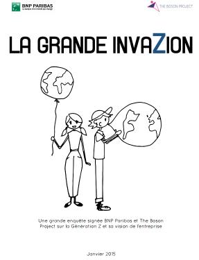 la génération Z : la grande invazion