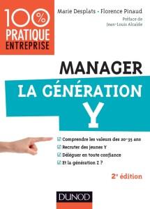 couverture du livre manager la generation Y