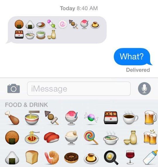 emoji originaire du Japon, ce qui signifie la plupart des icônes sont spécifiques à la culture japonaise