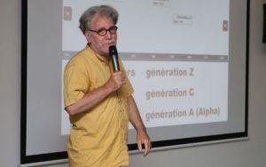 eric Delcroix conférence sur la génération z et l'enseignement
